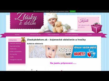 www.zlaskykdetom.sk
