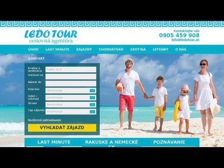 www.ledotour.sk