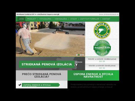 www.striekane-izolacie.sk