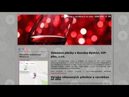 www.sklenenypilnik.sk
