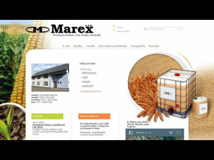 www.marex.sk