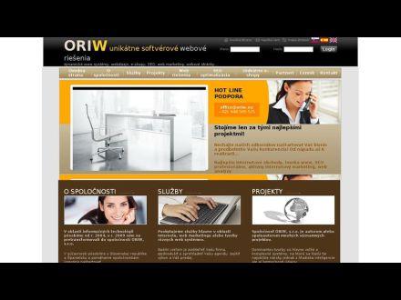 www.oriw.eu