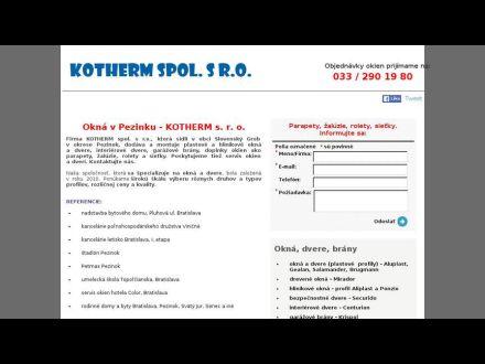 www.okna-dverekotherm.sk