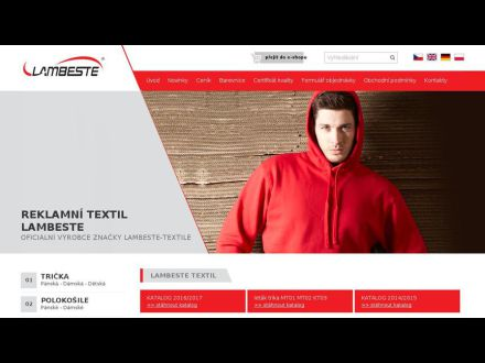www.lambeste-textil.cz