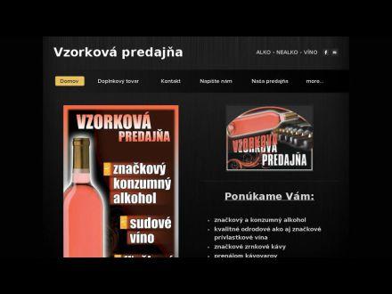 www.vzorkovapredajna.sk