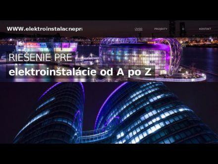 www.elektroinstalacneprace.sk