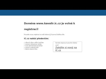 www.kavalir.ic.cz
