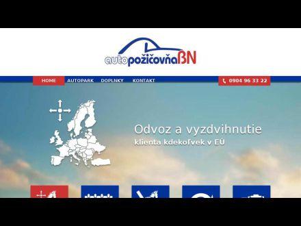 www.autopozicovnabn.sk