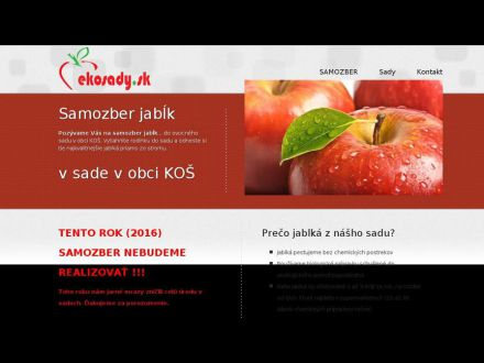 www.ekosady.sk