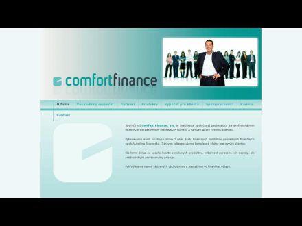 www.comfortfinance.sk