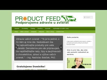 www.productfeed.sk