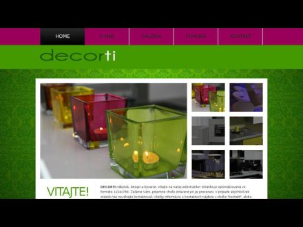 www.decorti.sk