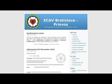 www.ecavprievoz.sk