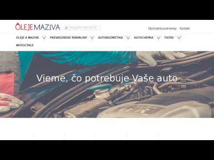 www.olejemaziva.sk