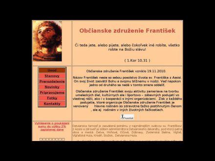 www.ozfrantisek.sk