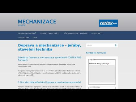 www.fortexmechanizace.cz