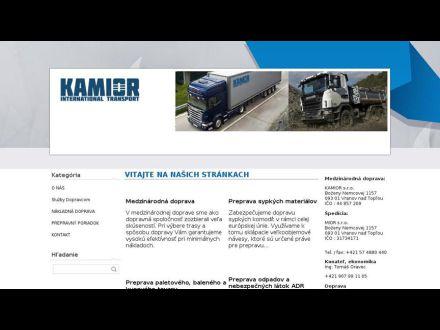 www.kamior.sk
