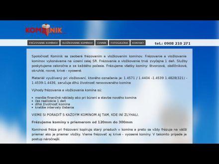 www.kominik.sk