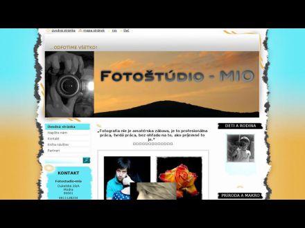 www.fotostudio-mio.sk