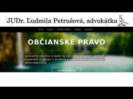 www.advokatpetrusova.sk