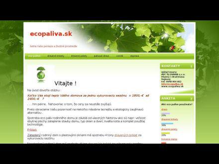 www.ecopaliva.sk