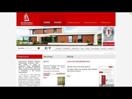 www.internorma.sk