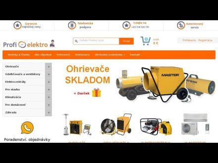 www.profi-elektro.sk