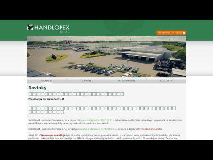 www.handlopex.sk