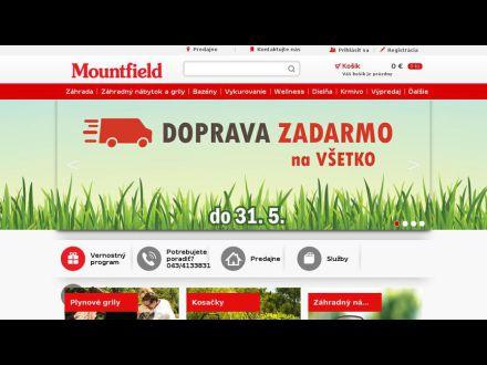 www.mountfield.sk