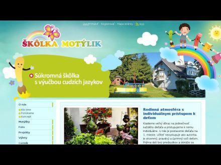 www.skolka-motylik.sk