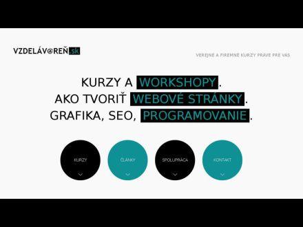 www.vzdelavaren.sk