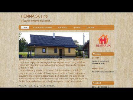 www.hemmask.sk