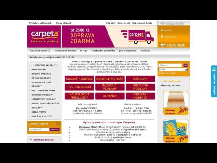 www.koberce-carpeta.cz