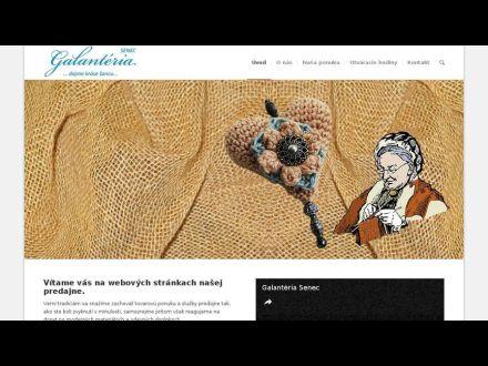 www.galanteria-senec.sk