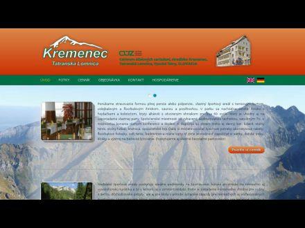 www.hotelkremenec.sk