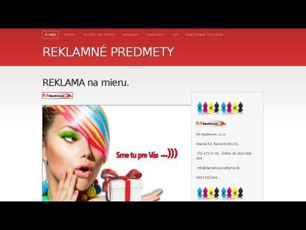 www.darcekova-reklama.sk