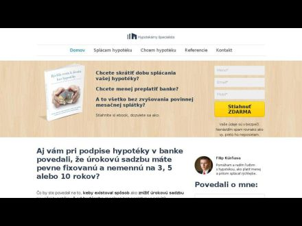 www.hypotekarny-specialista.sk