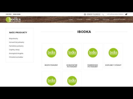 www.ibodka.sk