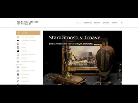 www.starozitnostitrnava.sk