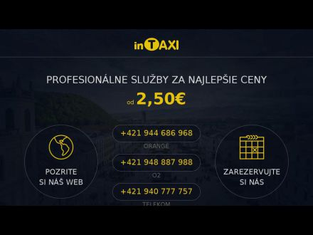 www.intaxi.sk