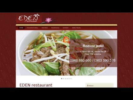 www.eden-restaurant.sk