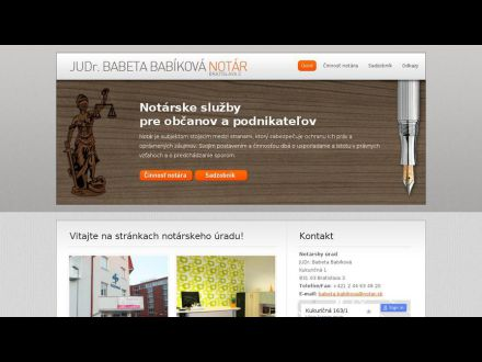 www.notarbabikova.sk