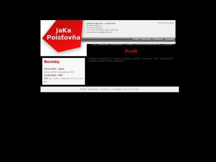 www.jakapoistovna.sk