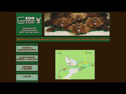 www.janbahno-zoopreparatorium.sk