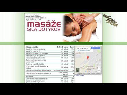 www.masaze-siladotykov.sk