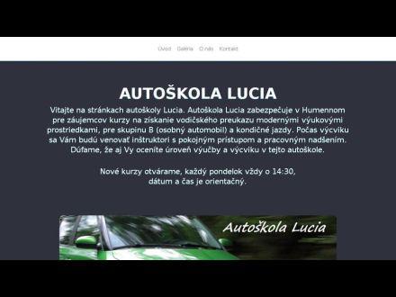 www.autoskolalucia.sk