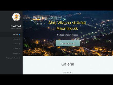maxi-taxi.sk