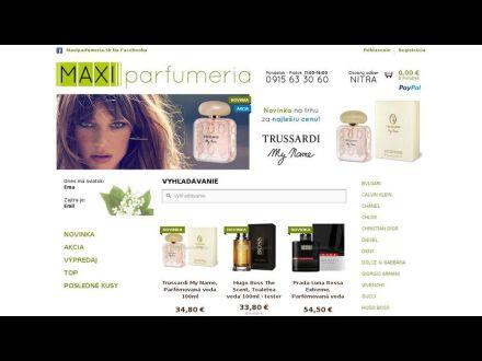 www.maxiparfumeria.sk