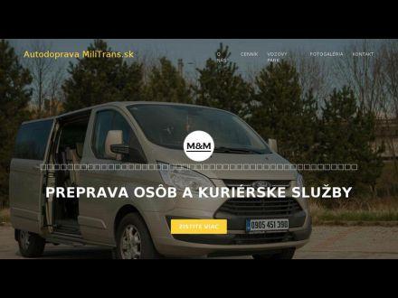 www.militrans.sk