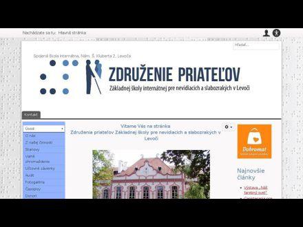 www.zdruzenie.nevidiaci.sk